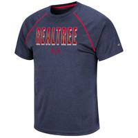 Men's Navy Short Sleeve Performance Shirt