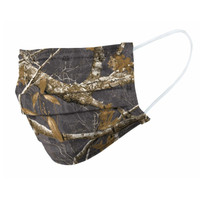 Realtree Edge Charcoal Face Mask - Side