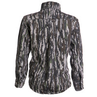 BC Raskulls Camo L/Sleeve Twill Button-Up Shirt Back