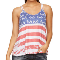 Women's Stars and Bars Tank