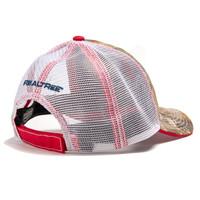 Realtree Edge Patriotic Antler Hat Back