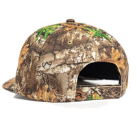 Realtree Road Trips Camo Limited Edition Leather Patch Richardson Hat Back