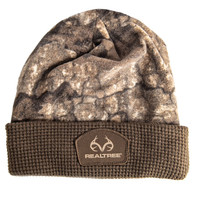 Realtree Pro Staff Cuffed Camo Beanie in Timber