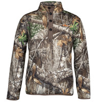 Men's Realtree Edge Boar Ridge Fleece Pullover