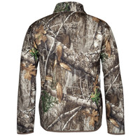 Men's Realtree Edge Boar Ridge Fleece Pullover Back