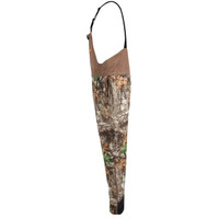 Men's Edge Camo Cedar Branch Insulated Waterproof Bibs Side