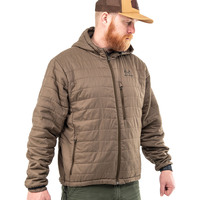 Realtree Pro Staff Men's Olive Puffy Jacket