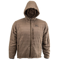 Realtree Pro Staff Men's Olive Puffy Jacket - Image
