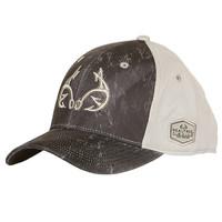 Sonar Black Fishing Cap Side