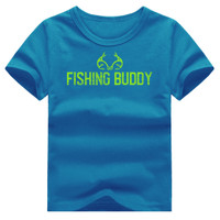 Boy's Fishing Buddy Short Sleeve Shirt