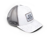 Realtree Wav3 White Patch Mesh Back Hat