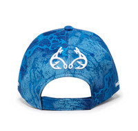Realtree Wav3 Blue Performance Hat Back