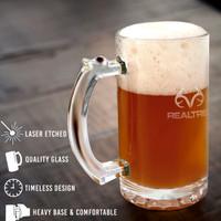 Realtree Beer Mug Glasses - Set of 4 Info