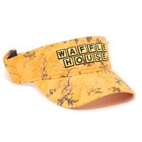 Waffle House Xtra Orange Camo Visor