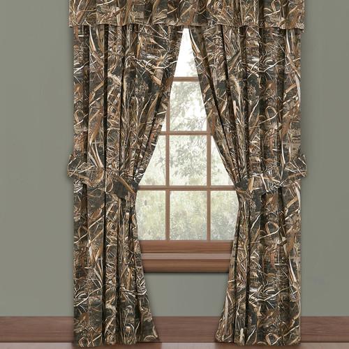 Realtree Camo Window Drapes in Max-5