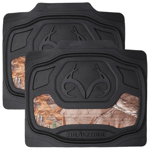 Realtree Xtra Camo 2-Piece Rear Floor Mat Set