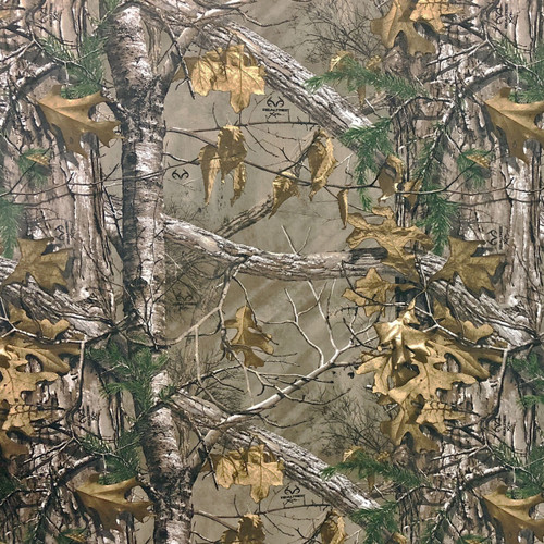 Realtree Camo Poly Cotton Xtra Twill Fabric