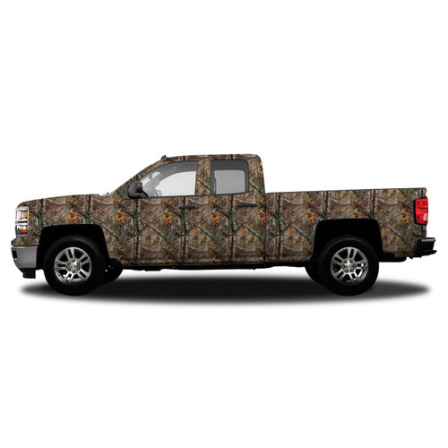 Realtree Standard Size Vehicle Wrap shown in Realtree Xtra