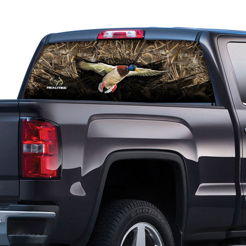Realtree Max 5 Camo Duck Rear Window Film
