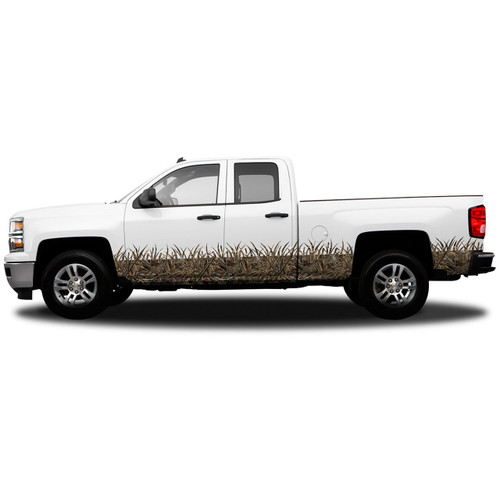 Realtree Max 5 Grassy Effect Lower Portion Kit for Extended Cab 4-Door Truck
