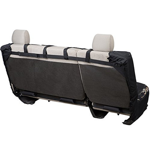 Realtree Black Switch Back Bench Seat Cover Back