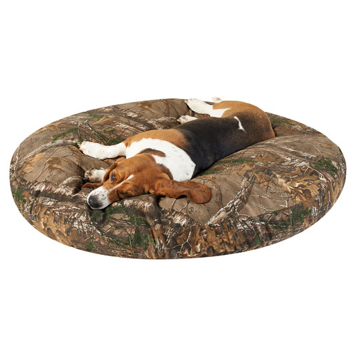 "Realtree Round Dog Beds 50"" in Xtra"