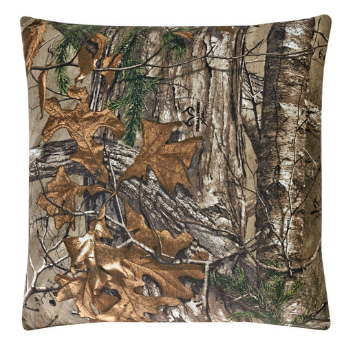 Realtree Square Accent Pillow in Xtra
