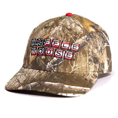Waffle House Edge Camouflage Patriotic Logo Hat