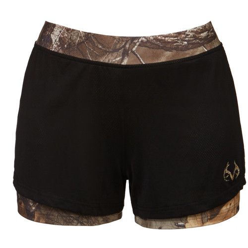 Realtree Women's Xtra Camo Active Running Short