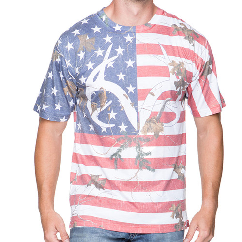 Realtree Men's Camo Independence Tee