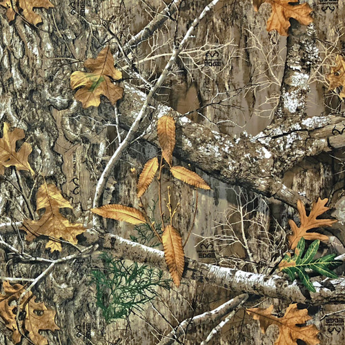 Realtree Edge Poly Tricot Microfiber Brushed Fabric