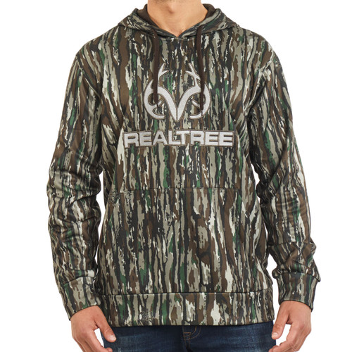 Realtree Men's Original Camo Antler Tech Hoodie