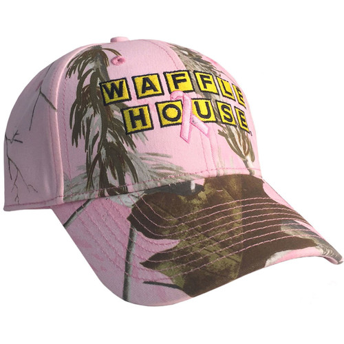 Waffle House Breast Cancer Awareness AP Pink Hat