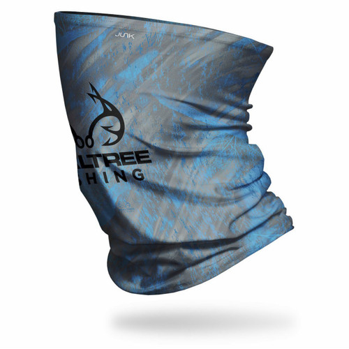 Realtree Tactical Electric Blue Fishing Neck Gaiter