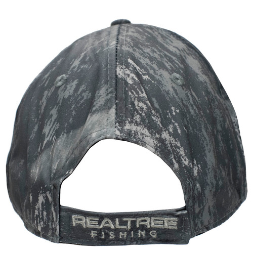 Realtree Fishing Black Performance Hat Back