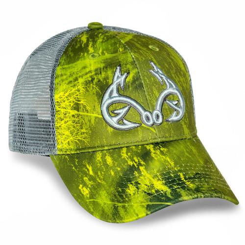 Realtree Fishing Green Performance Hat