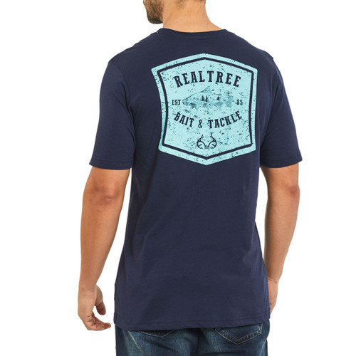 Bait and Tackle Short Sleeve Shirt Back