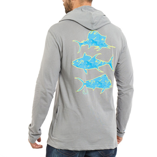 Mahi Performance Long Sleeve Hooded Shirt