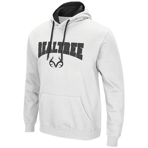 Realtree Men's Classic Hoodie in White