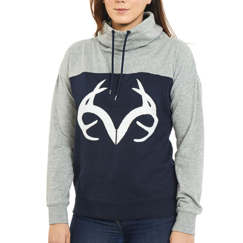 Women's Funnel Neck Fleece Pullover