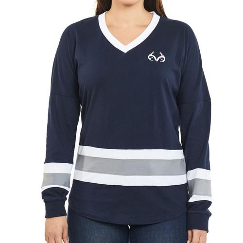 Women's Oversized Long Sleeve Shirt