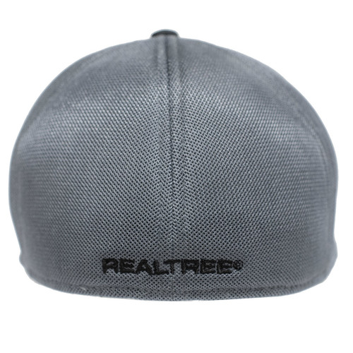 Realtree Blackout Performance Fitted Hat Back