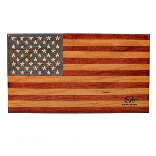 "6.25""x 11"" Veteran Made Desktop American Flag"