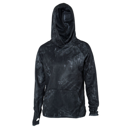 Women's Pro Staff Camo Hoodies  Excel Black