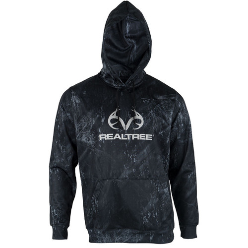 Men's Pro Staff Logo Camo Hoodies in Fishing