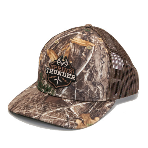 Realtree Edge Spring Thunder Richardson Mesh Back Hat