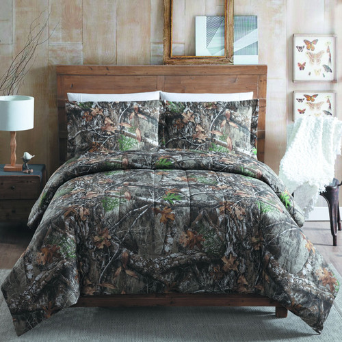 Realtree Edge Camo Comforter Set