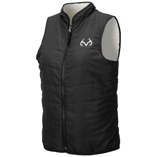 Women's Reversible Sherpa Fleece Vest
