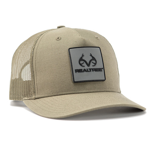 Realtree Logo Green Mesh Back Richardson Cap