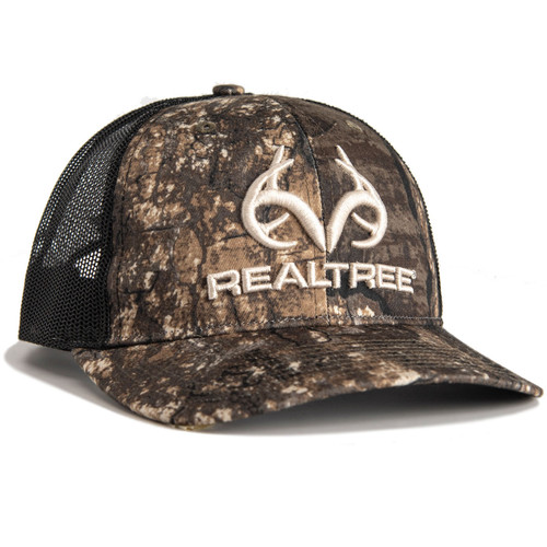 Realtree Camo Mesh Back Pro Staff Richardson Hat Timber